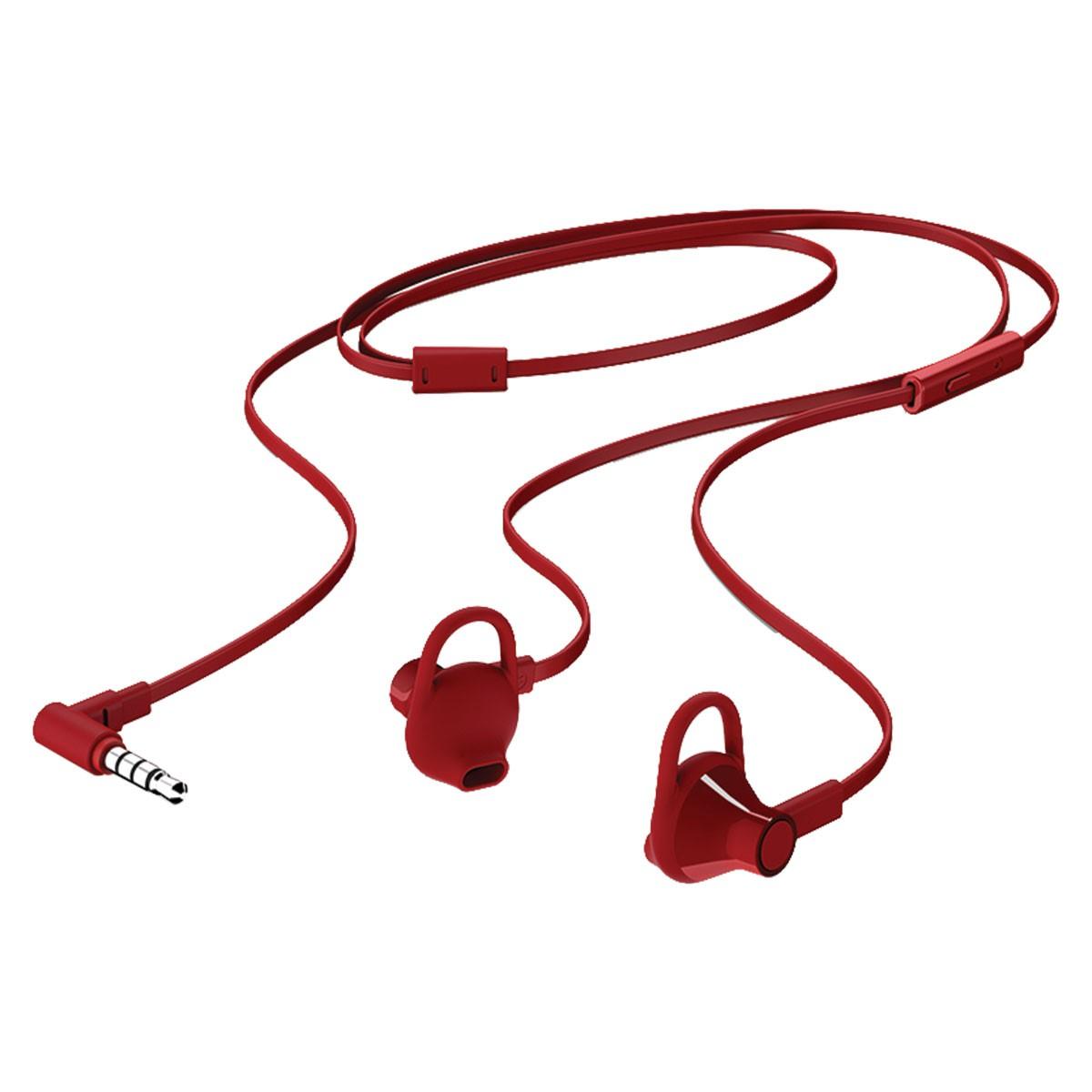 Fone de Ouvido INTRA com Microfone H150 Vermelho