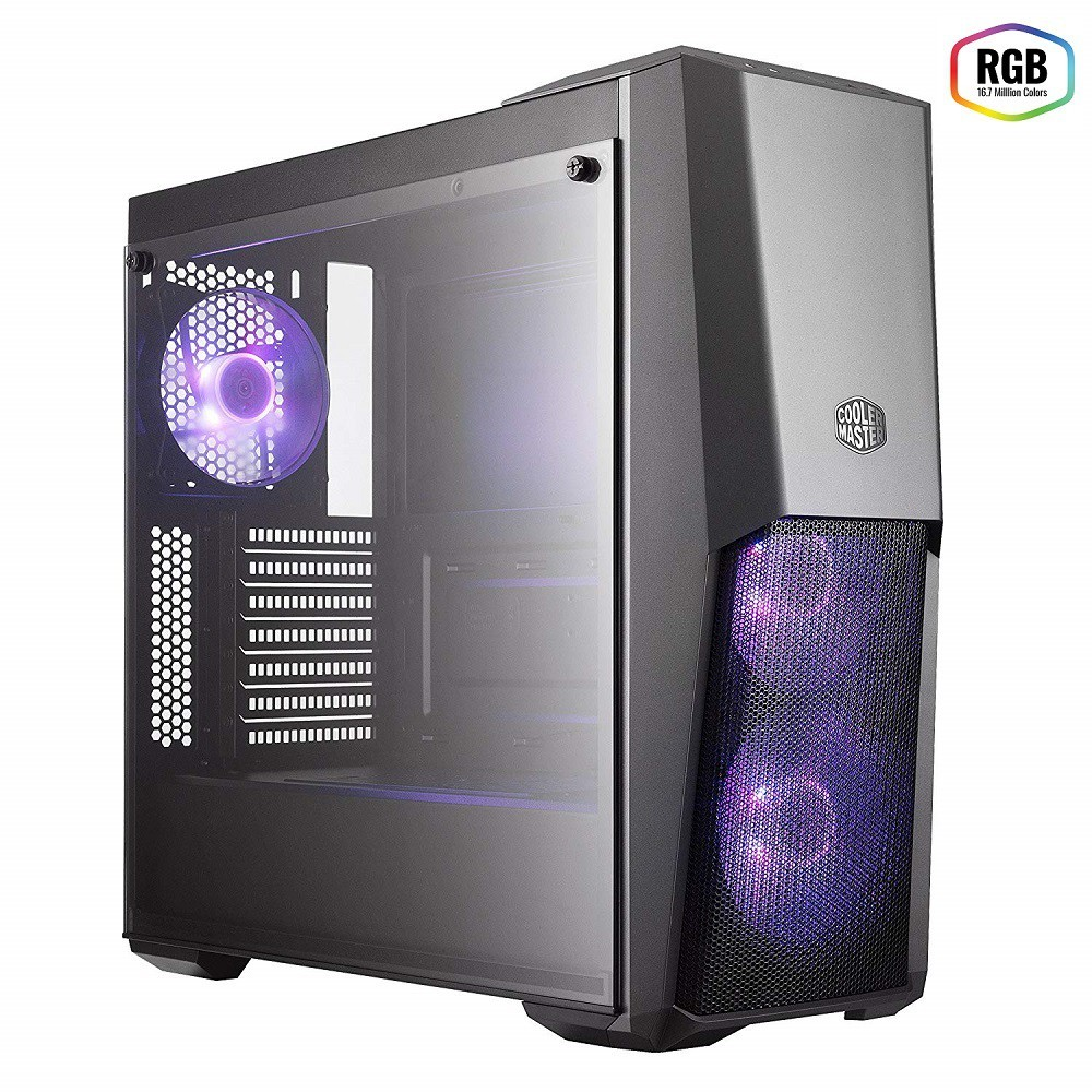 Gabinete Masterbox MB500 - Vidro Lateral - MCB-B500D-KGNN-S00