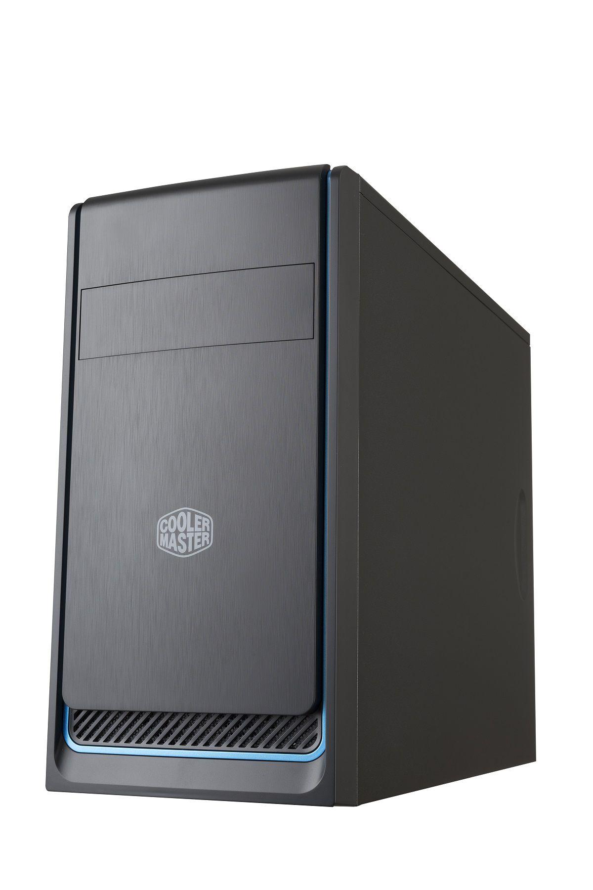 Gabinete Masterbox Preto AZUL E300L  MCB-E300L-KN5N-B01