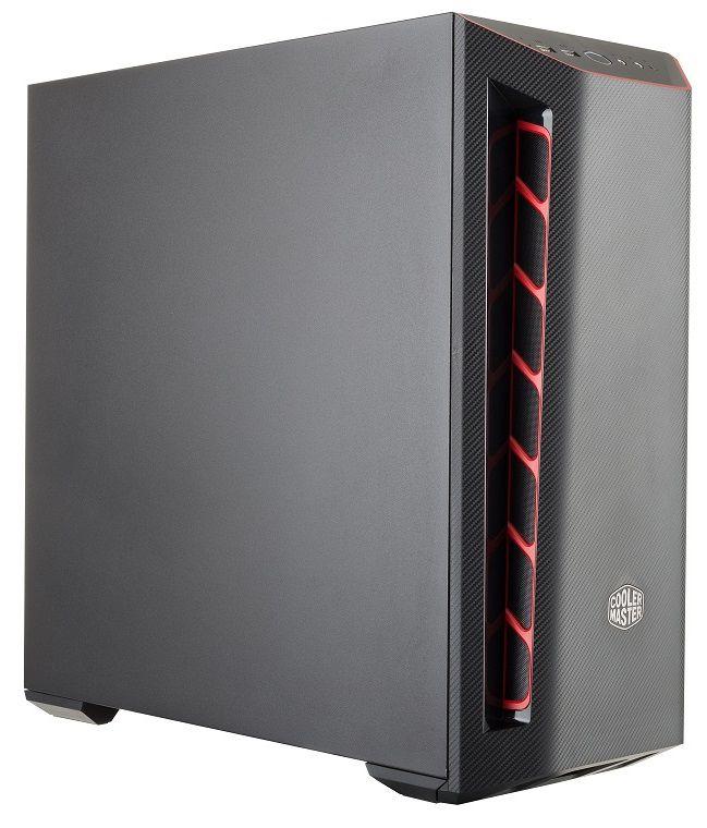 Gabinete Masterbox Preto Vermelho MB501L MCB-B501L-KNNN-S00
