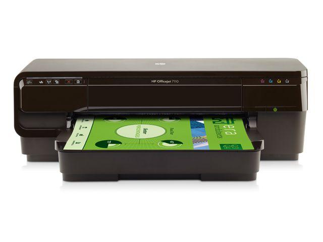 Impressora HP OJ 7110 A3 Wide Format Rede Wifi 33PPM CR768A#AC4