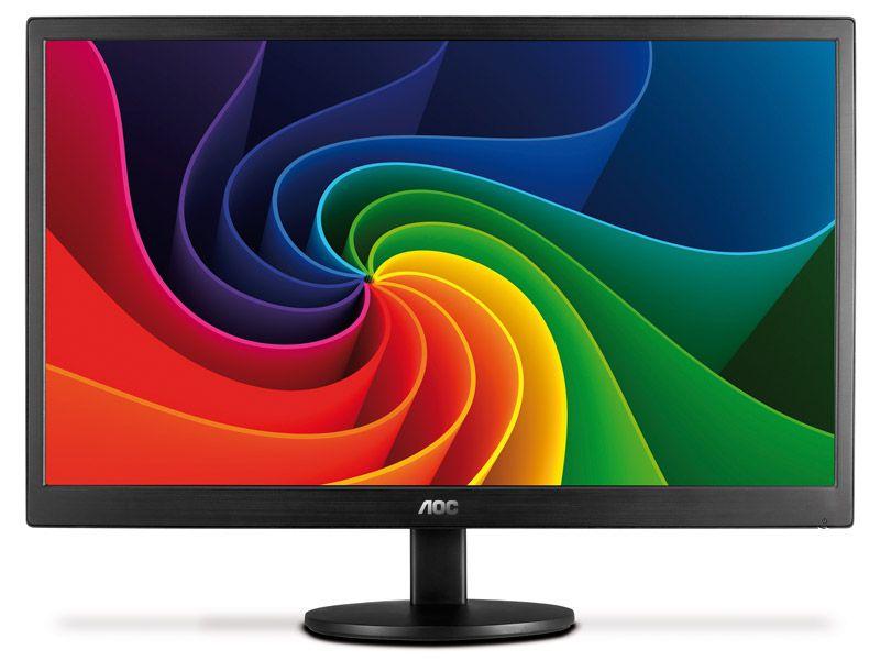 Monitor AOC 21,5 LED 1920X1080 Wide FULL HD E2270SWN
