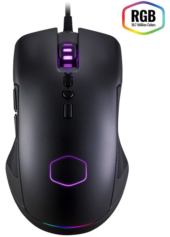 Mouse Gamer CM310 - Pixart A3325 (10000 DPI) - RGB - CM-310-KKWO2