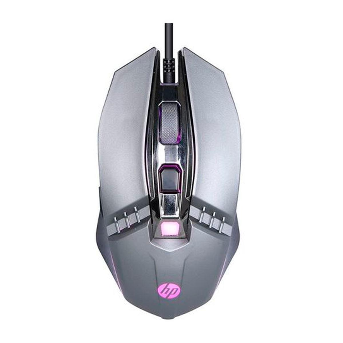 Mouse HP Gamer USB M270 2400DPI LED Chumbo