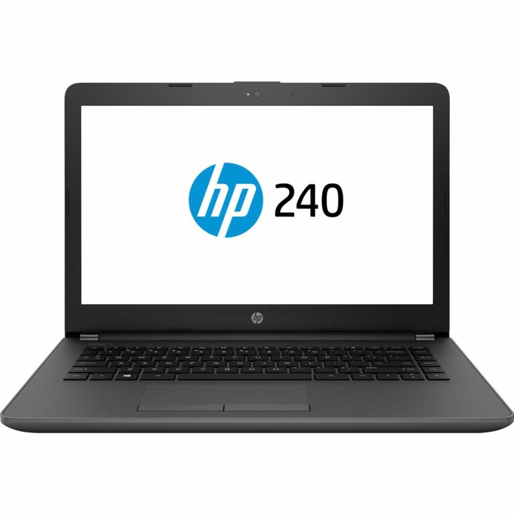Notebook HP 240g7 Intel Core I3 7020u 4gb 500gb 14 Windows 10 PRO Preto