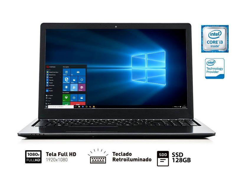 Notebook Vaio FIT 15S I3-6006U 4GB 128GB SSD 15.6 WIN 10 VJF154F11X-B0811B