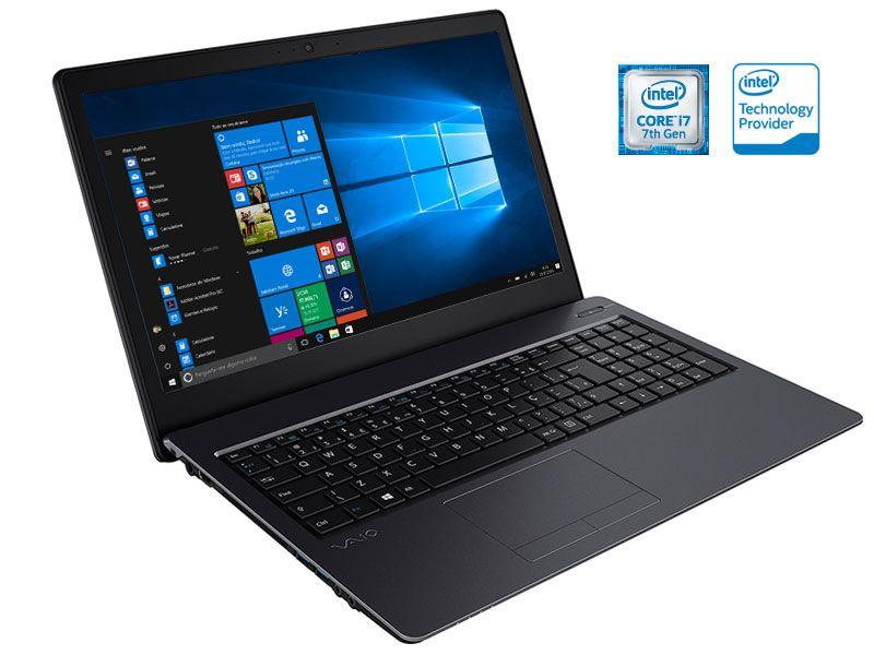 Notebook Vaio FIT 15S I7-7500U 1TB 8GB 15,6 LED WIN10 VJF155F11X-B0311B
