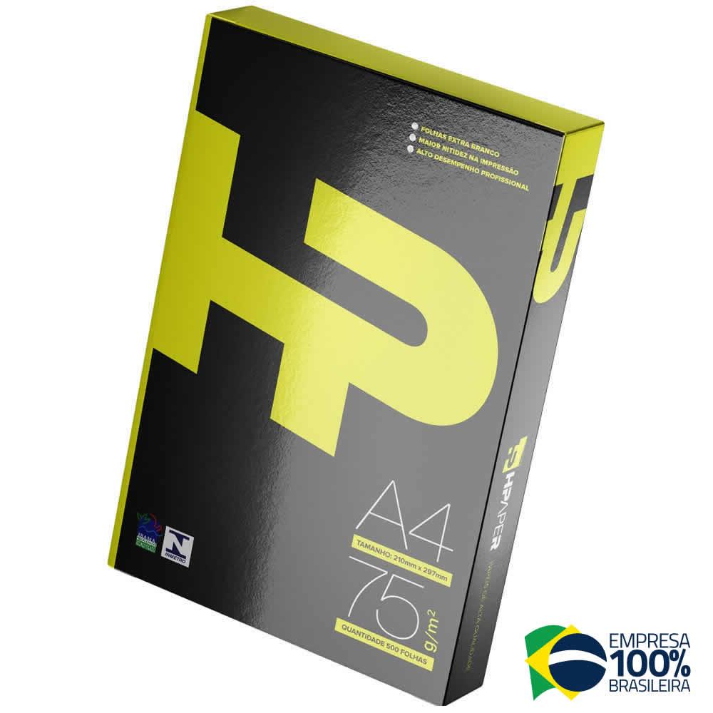 Papel Sulfite A4 Hpapper Branco pacote 500 folhas 75g
