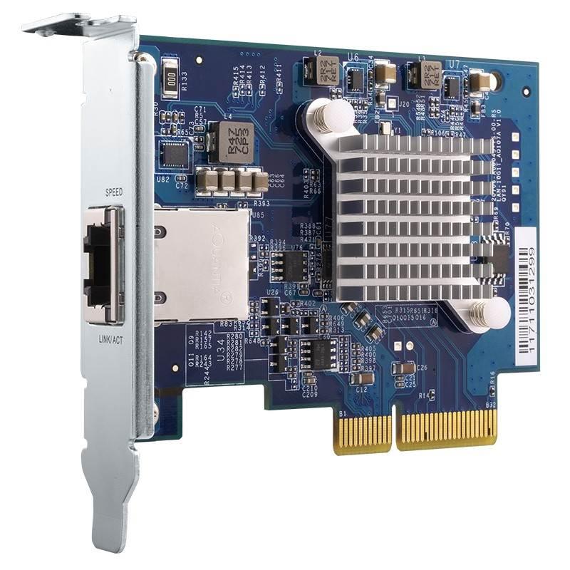 Placa de Rede 10GBE Pcie 4X - QXG-10G1T QNAP
