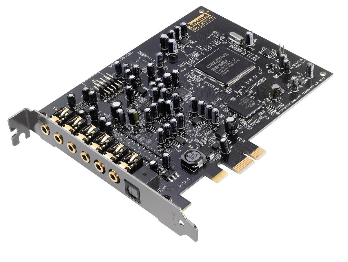 Placa de Som PCI-E - Sound Blaster Audigy RX - 70SB155000001