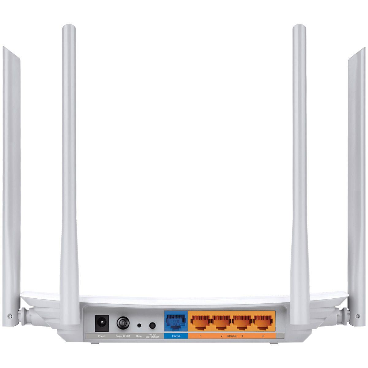 Roteador Wireless Dual BAND 2.4/5GHZ AC1200 ARCHER 4 Antenas C50 V3 com CHECK IN NO Facebook