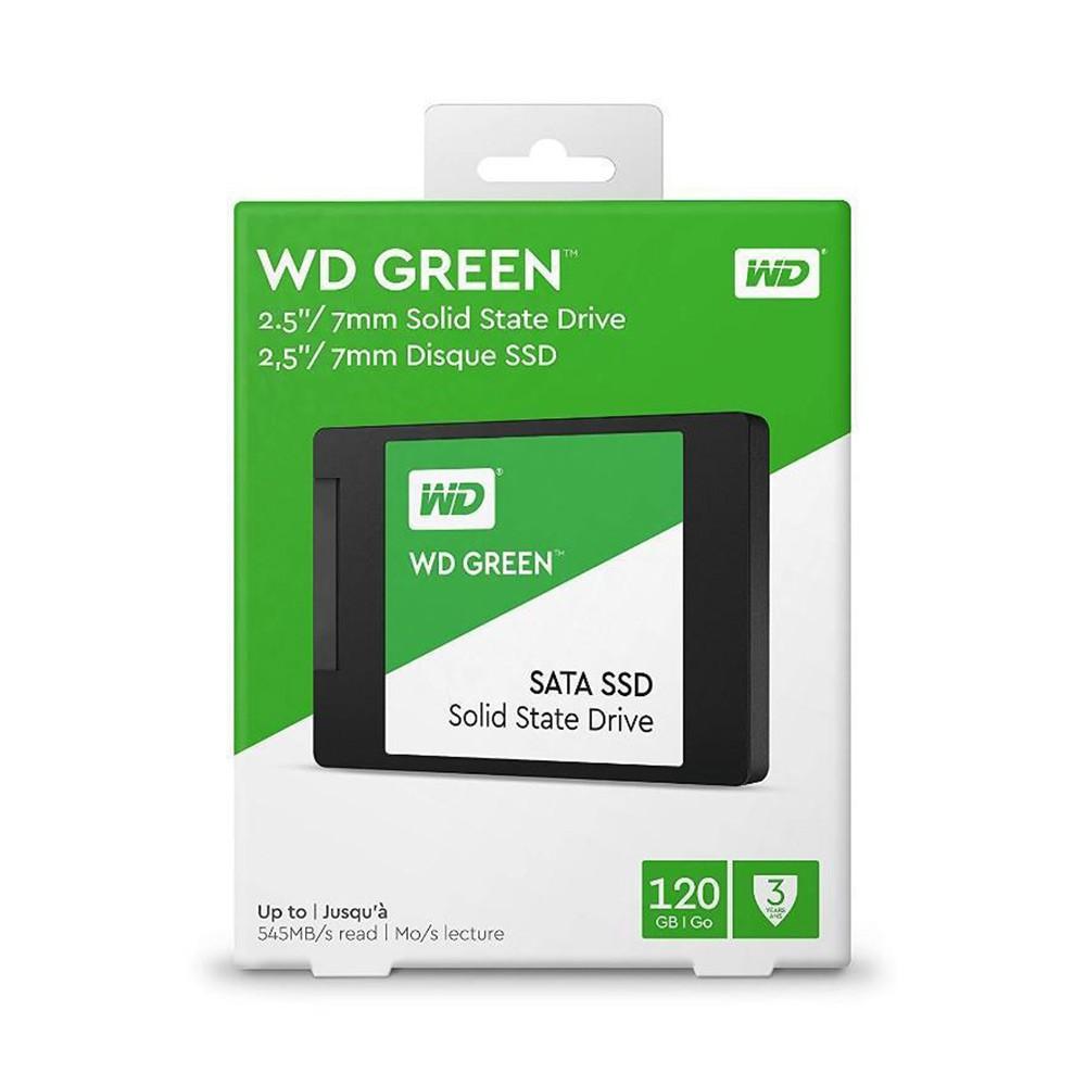 SSD 120GB WD Green Sata3 2.5 7mm WDS120G2G0A