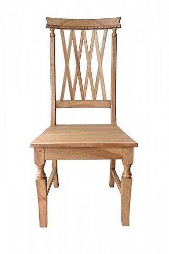 Cadeira Rústica Charmeaut em Madeira de Demolição - Cód 907