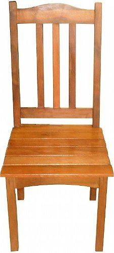 Cadeira Rústica Lovely Em Madeira De Demolição - Cód 56