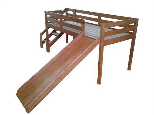 Cama Infantil Dory Em Madeira De Demolição - Cód 2089