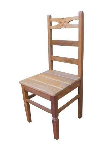 Cadeira Rústica Lumine em Madeira de Demolição - Cód 1188