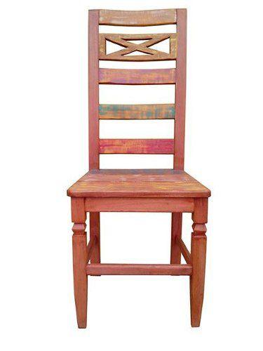 Cadeira Rústica Composee Madeira Demolição - Cód 1672