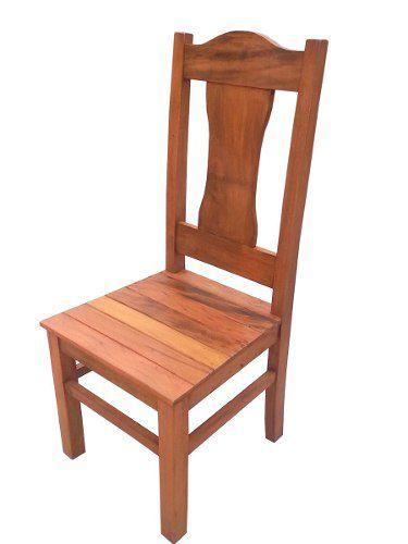 Cadeira Rústica Dandara em Madeira de Demolição - Cód 1468