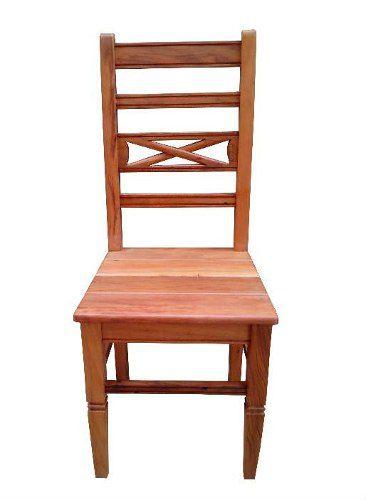 Cadeira Rústica Florença em Madeira de Demolição - Cód 1384