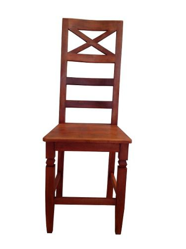 Cadeira Rústica Mônaco Em Madeira De Demolição - 1438