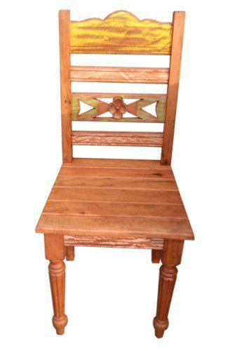 Cadeira Rústica Flávia em Madeira de Demolição - Cód 1684