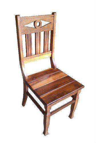 Cadeira Rústica Oásis em Madeira de Demolição - Cód 1838