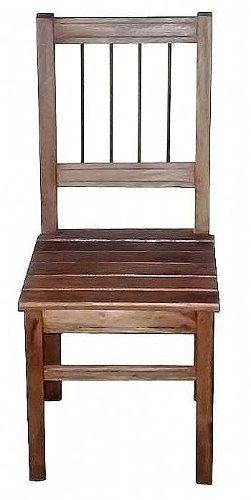 Cadeira Rústica Constanza em Madeira de Demolição - Cód 251