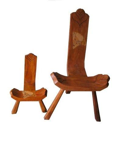 Cadeira Rústica Bacalhau Infantil em Madeira de Demolição - Cód 680