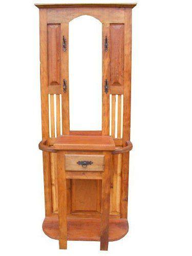 Chapeleira Caroline Em Madeira De Demolição - Cod 2412