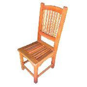 Cadeira Rústica Nice Em Madeira De Demolição - Cód 2352