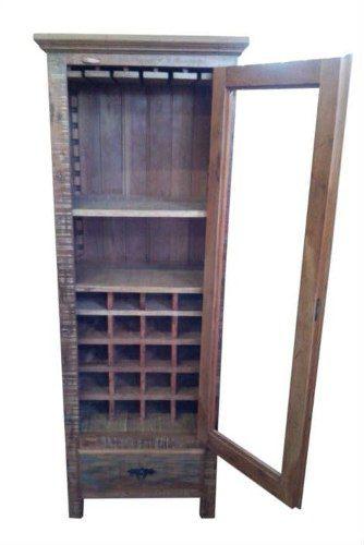 Bar Rústico Grigio Em Madeira De Demolição - Cód 2125