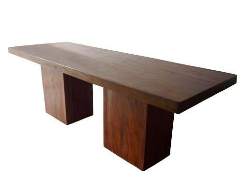 Mesa Moderne Em Madeira De Demolição - Cód 1081