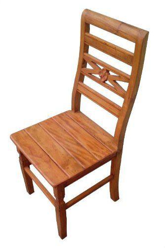 Cadeira Bonnie Rústica em Madeira de Demolição - Cód 2157