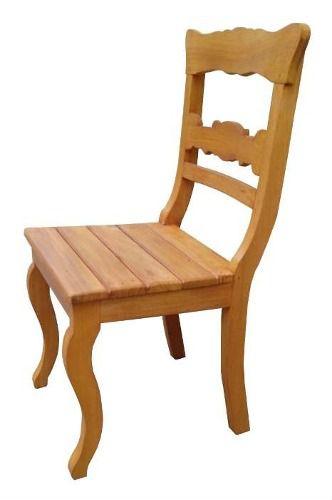 Cadeira Agnes Em Madeira De Demolição - Cód 2158