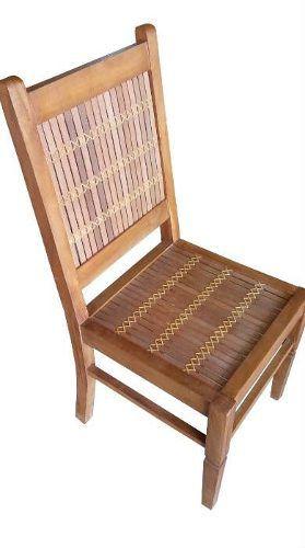 Cadeira Rústica Hippy Em Madeira De Demolição - Cód 232