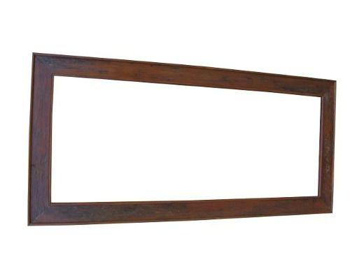 Moldura Para Espelho Common em Madeira de Demolição - Cód 1298