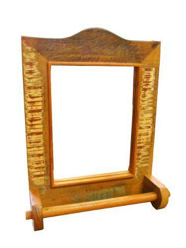Moldura P Com Espelho E Porta Toalhas - 1345