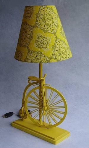 Abajur Bicicleta - Cód 2003