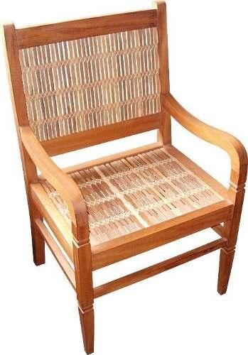 Cadeira Rústica Hippy Com Braços 210