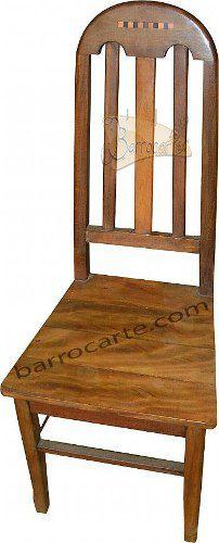 Cadeira Rústica Veneza Em Madeira De Demolição - Cód 330
