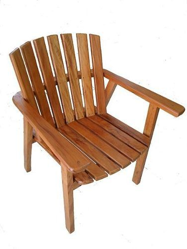 Cadeira Rústica Miami Em Madeira Demolição - Cód 2356