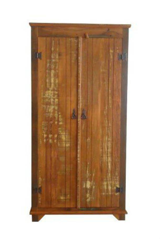 Armário Rústico Tobias em Madeira de Demolição - Cód 2211