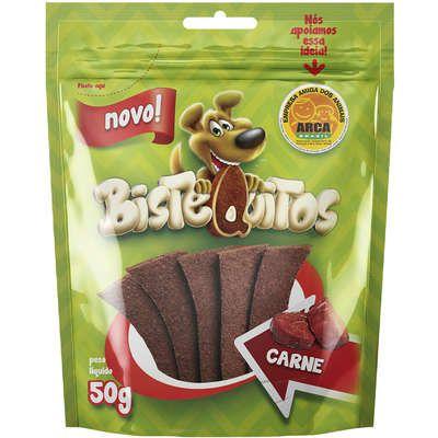 Bifinho Bistequitos Carne 50g