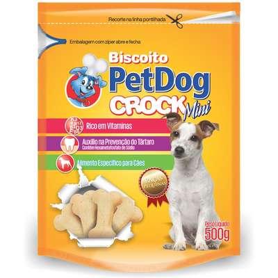 Biscoito PetDog Mini - Raças Pequenas (Embalagem de 500 g)