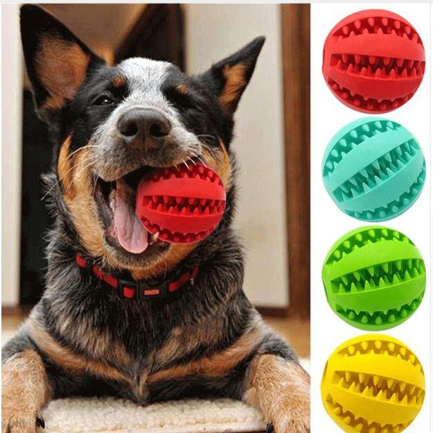 Bola de Borracha Interativa Melancia - Brinquedo pra cachorro