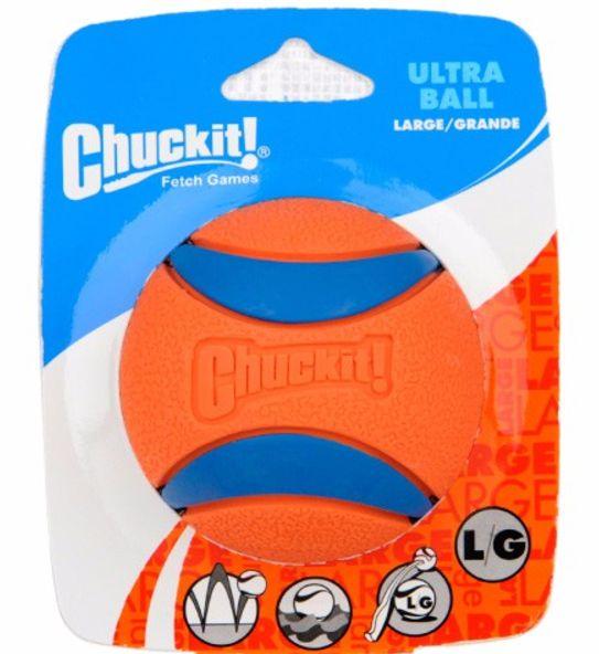 Bola de Borracha Resistênte - Chuckit!
