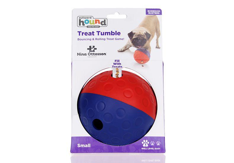 Bola Porta Petisco, com 2 saídas para ração ou petiscos - Pet Ball pra cachorro