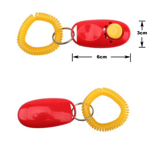 Cliquer com Pulseira Vermelho (clicker)