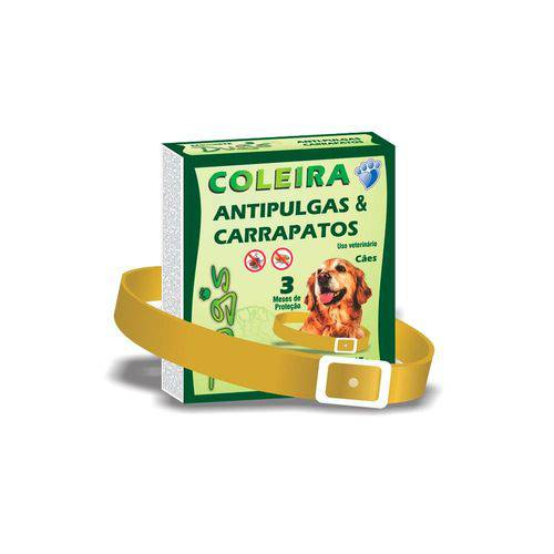 Coleira Anti Pulgas e Carrapatos Dugs