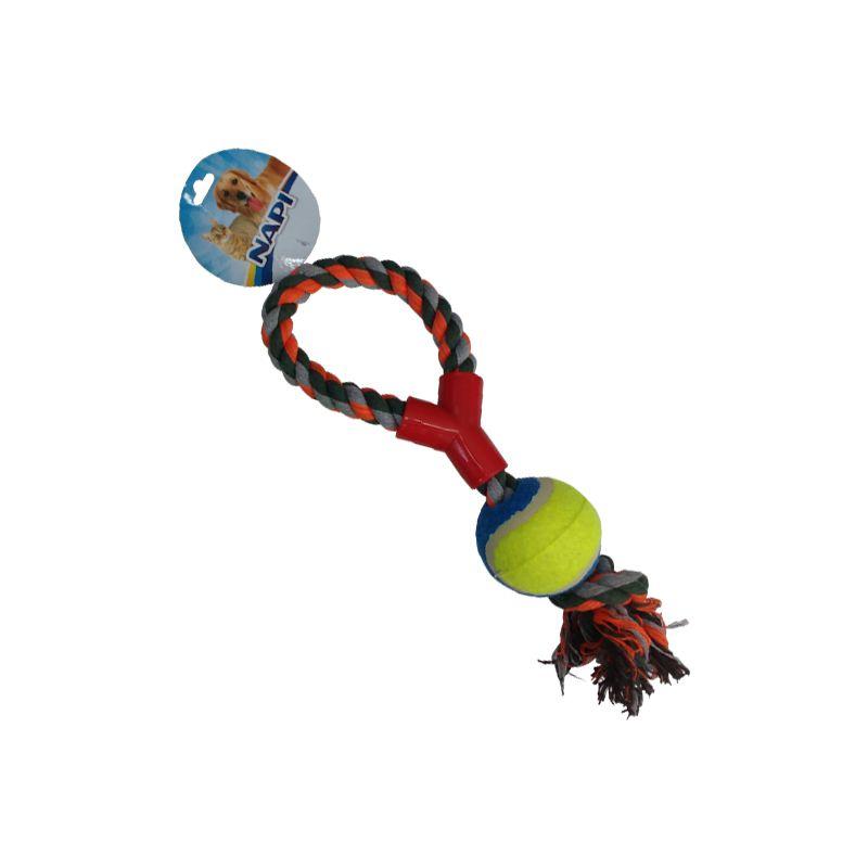 Mordedor Corda de Algodão com Bola